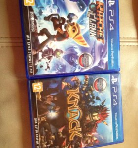Knack , Ratchet and Clank ps4 игры