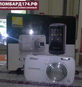 Компактный фотоаппарат Nikon Coolpix S800c