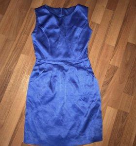 Вечернее платье из ткани Versace