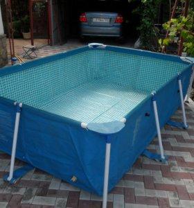 бассейн каркасный