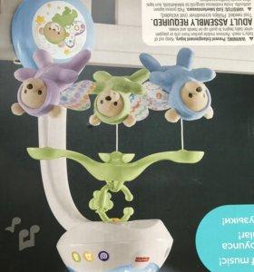 Детский Мобиль светильник ночник игрушка подвеска