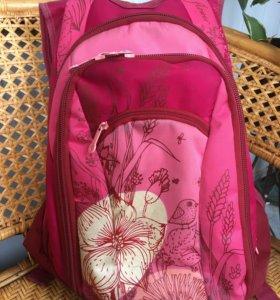 Гризли школьный рюкзак для первоклассницы