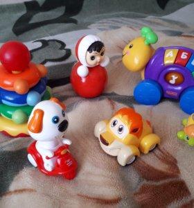 Детские игрушки (пакетом)