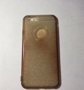 Чехол силикон на айфон 6.