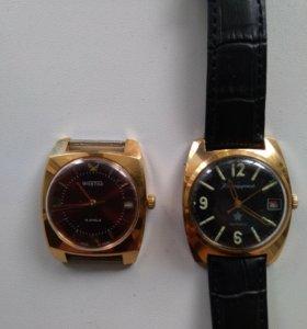 Часы восток и командирские