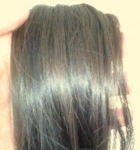 Волосы шоколад натуральные славянские