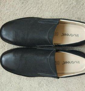 Туфли/полуботинки мужские в идеальном состоянии