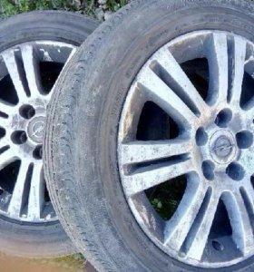 Колеса с дисками от Opel Astro H