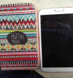 Samsung galaxy tab 3 ( с чехлом ) 8 дюймов