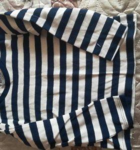 Рубашки и футбрлка с длинным рукавом 98р.