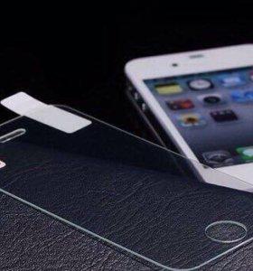 Защитные стёкла на iPhone 4/4s, 6/6s