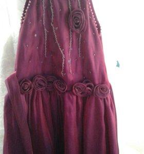 Платье для девочки от 7 до 9 лет