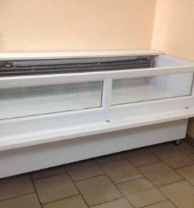 Холодильная витрина  мясная (новая)