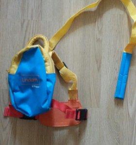 Вожжи с рюкзаком для малыша