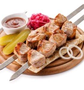 Маринованная свинина -шашлык
