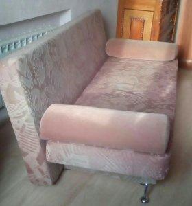 диван-кровать (книжка), с валиками/подушками