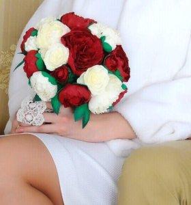 Шикарный свадебный букет из фоамирана. Дублер