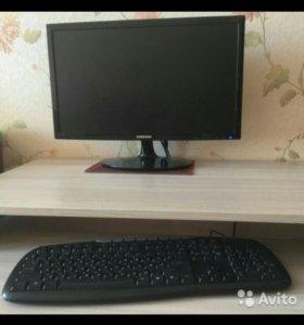 Компьютер мощный игровой и для работы с монитором