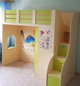 Кровать чердак (детская)