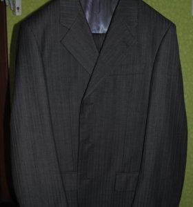 Костюм классический мужской, серый