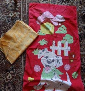 полотенце и покрывало