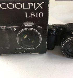 Цифровой фотоаппарат Nikon L810