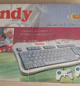 Dendy + компьютер для образования + 10 картриджей