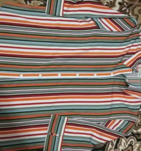 Рубашка блузон 56р