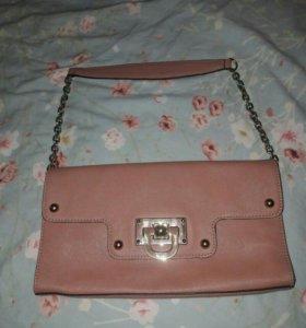 Новая сумочка DKNY из натуральной кожи