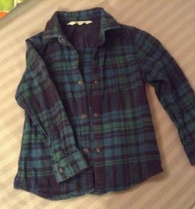 Рубашка фланелевая h&m