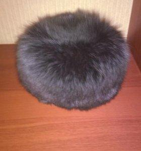 Шапка зимняя  песец размер 58