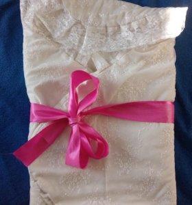 Обеяло-конверт на выписку
