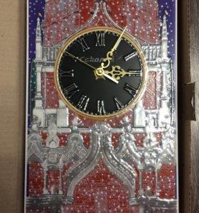 Часы из керамической плитки (Кремль)