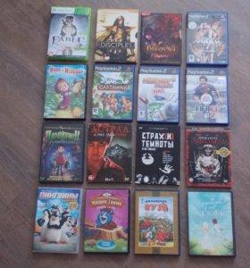 Игры, фильмы, мультфильмы. DVD/CD диски