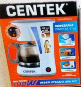 Новая кофеварка centek ct 1142