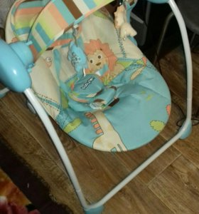Качели детские Babyton Merry Blue