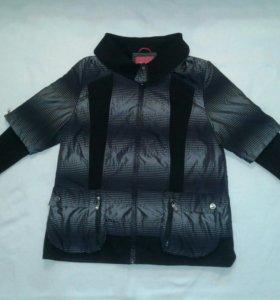 Куртка утепленная на флисе 50-52 размер