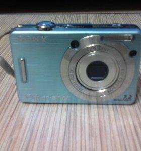 Компактный фотоаппарат Sony Cyber-shot DSC-W55