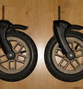 Колесо переднее с вилкой для Camarelo eos D=10