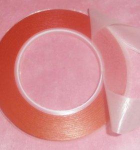 Двусторонний акриловый скотч стекла 5,2мм -25м