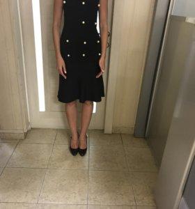 Платье чёрное Valentino