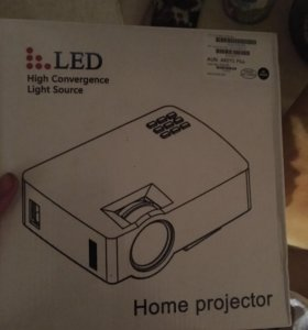 Проектор akey1plus + кабеля 4к