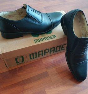 Туфли Фарадей, Оксфорд, новые, размер 39-40