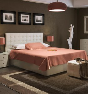 Кровать с подъёмным механизмом 2 ящика