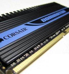 DDR3 Corsair Dominator 2Gb cl7 1600Mhz
