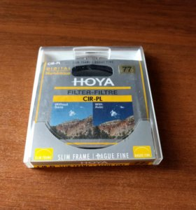Поляризационный светофильтр Hoya PL-CIR Slim 77mm