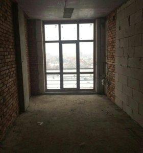 Квартира, свободная планировка, 57 м²