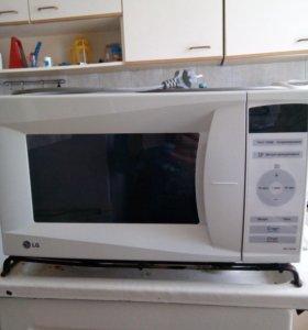 Мкв печь LG(модель MS-1947W.