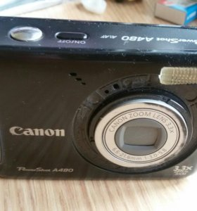 Фотоаппарат цифровой. Canon PowerShot A480.