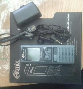 Диктофон аудио ritmix RR600